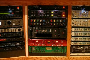 rack de studio professionnel
